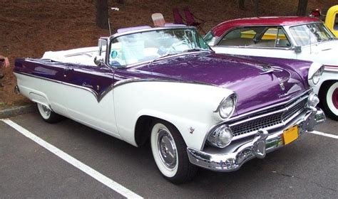 regency purple 1955 fairlane paint cross reference