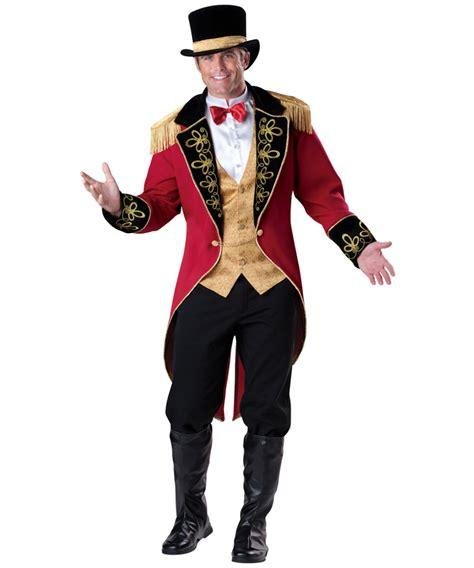 mens ringmaster costume adult ringmaster circus costume ringmaster costumes