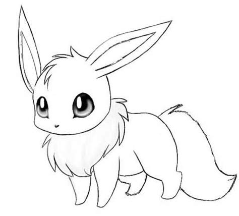 realistic pokemon coloring pages pokemon coloring page eevee coloring page