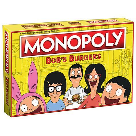 bob s burgers monopoly thinkgeek