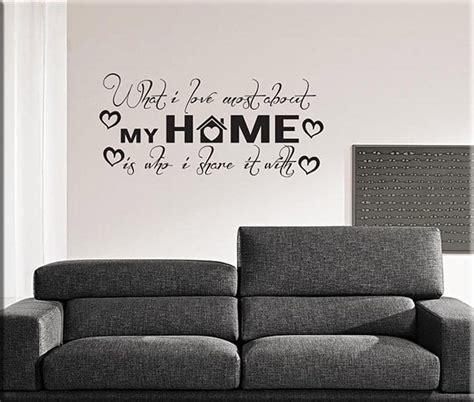 frasi su casa adesivi murali frasi home casa