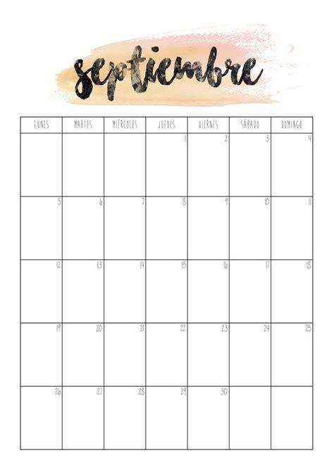 calendario 2017 mes a mes calendario septiembre 2016 primer d 237 a de septiembre