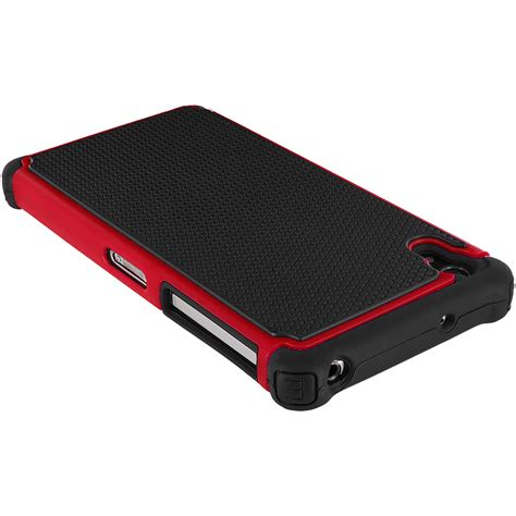 for sony xperia z2 hybrid rugged shockproof armor cover accessory