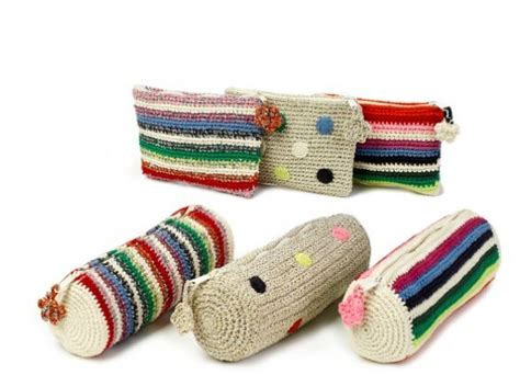 tutorial clutch rajut anne claire petit crochet kids and home collection