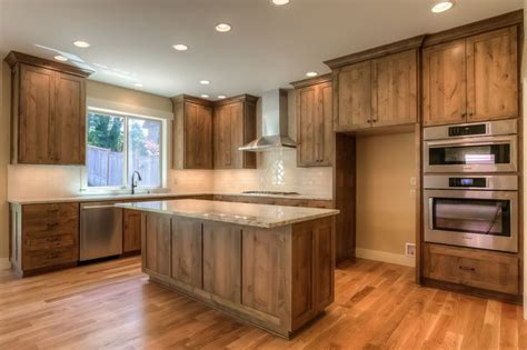 kitchen cabinets oregon kitchen knotty alder cabinets white oak floors final