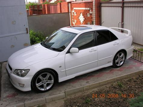 2001 Toyota Altezza Specs 2001 Toyota Altezza Pictures Information And Specs