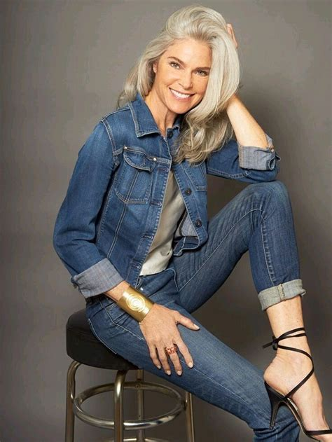 dark hair 60 plusyears old absolutely perfect silver vixens pinterest gray hair