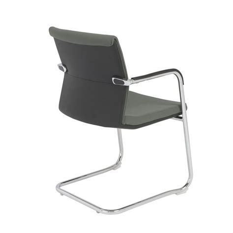Baird Chair by Eurostyle Baird Visitor Guest Chair In Gray 00699gry