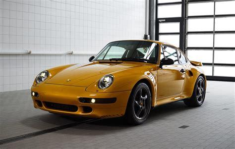 porsche gold porsche completes project gold 993 911 turbo