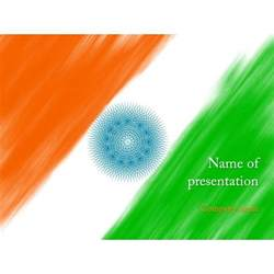 India Powerpoint Template by Indian Flag Powerpoint Template Background For