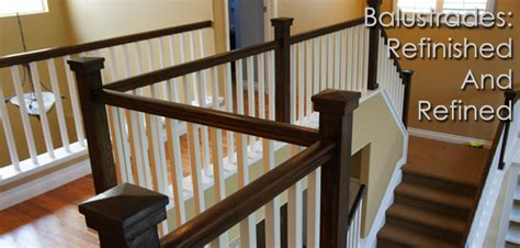how to refinish a banister balustrade handrail refinishing denver co interior