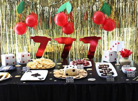 vegas themed birthday party ideas vegas casino themed party a joyful riot