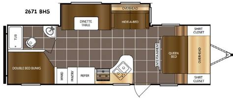 tracer rv floor plans prime time tracer travel trailers general rv
