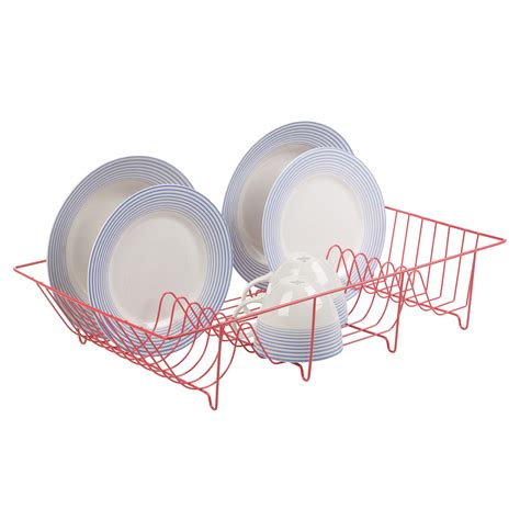 Tupperware Sambal Dish Piring Cabe metal wire coated dish rack kitchen sink drainer washing up draining holder tray ebay