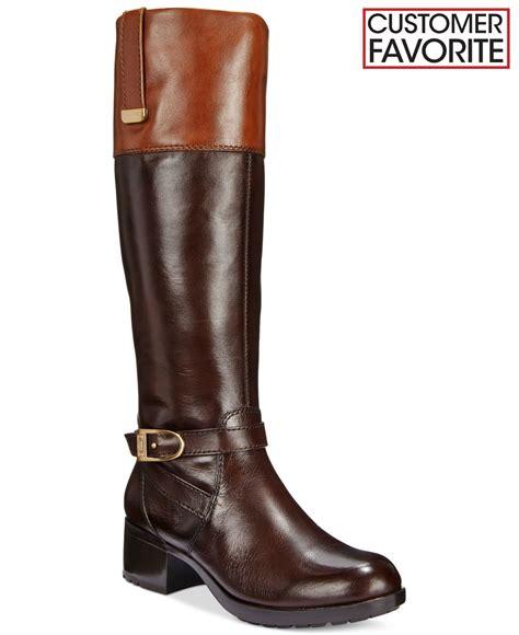 bandolino baya boots in brown lyst