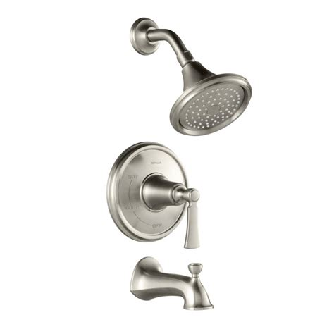 kohler elliston bathroom faucet kohler elliston single handle 1 spray tub and shower