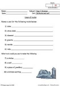 primaryleap co uk uses of rocks worksheet