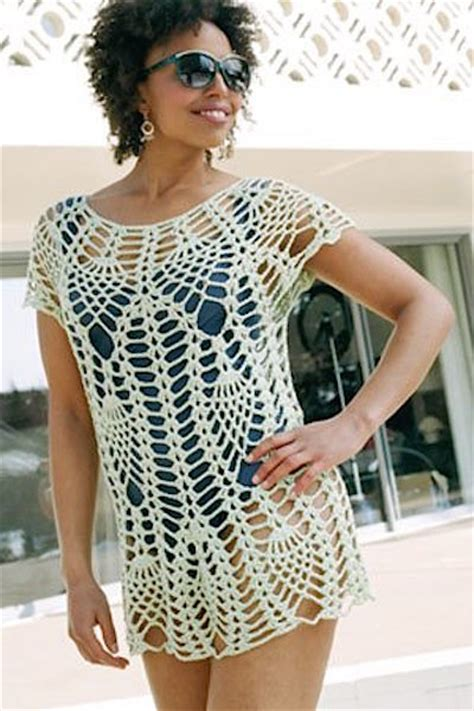 crochet pattern cover up barely there crocheted swimsuit cover ups craftfoxes
