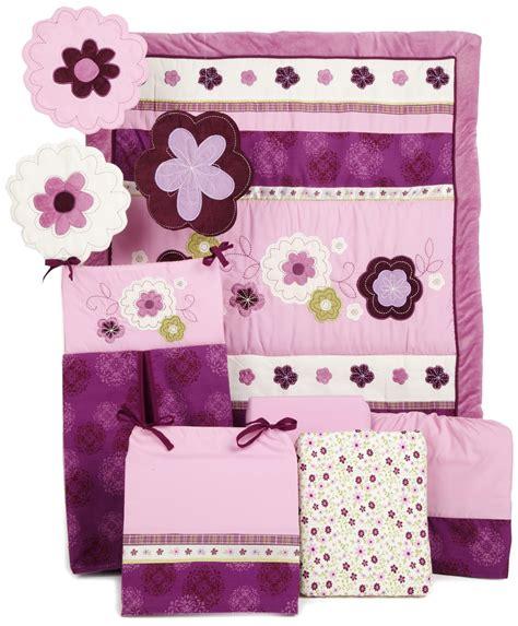 baby crib bedding purple nojo pretty in purple crib bedding collection baby