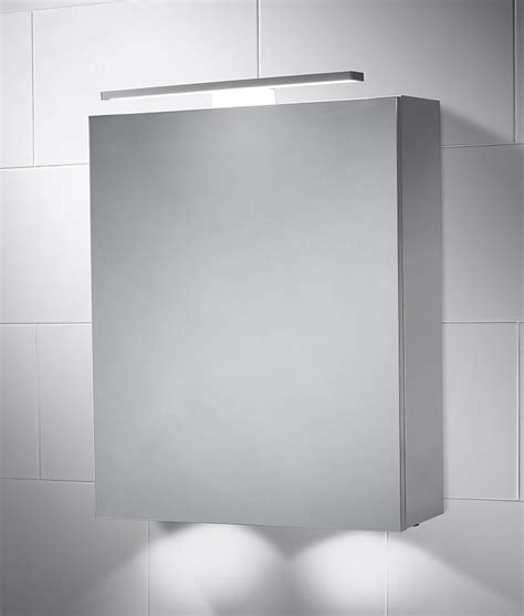 led bathroom cabinet with mirror light 600mm x 500mm