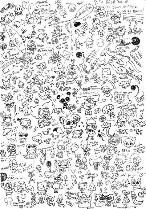 doodle pictures easy to draw doodles to draw random doodle page by