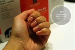 diy removing gel shellac nail at home my