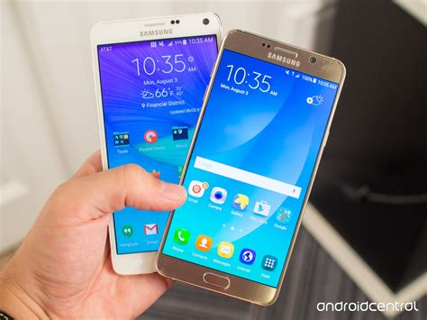 Samsung Note 4 Note 5 samsung galaxy note 5 versus note 4 what s the difference