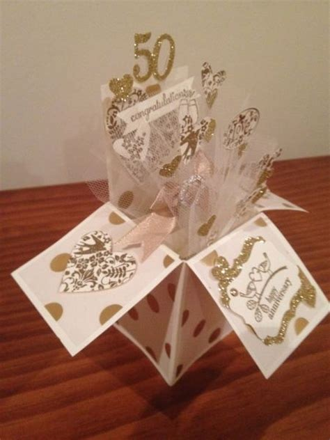 50th Wedding Anniversary Card Box by 727 Best Images About Pop Up Box Cards On