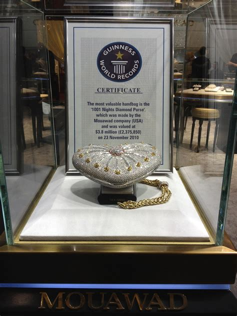 Would You Indulge In The Worlds Most Expensive Desserts by World S Most Expensive Handbag It S Not Even That
