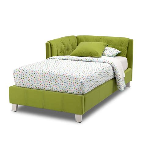 Jordan Twin Corner Bed Green Value City Furniture Green Bed