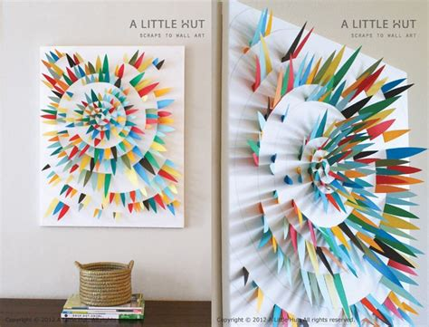 como hacer decoraciones con papel cuadros con decoraciones de papel manualidades para vender