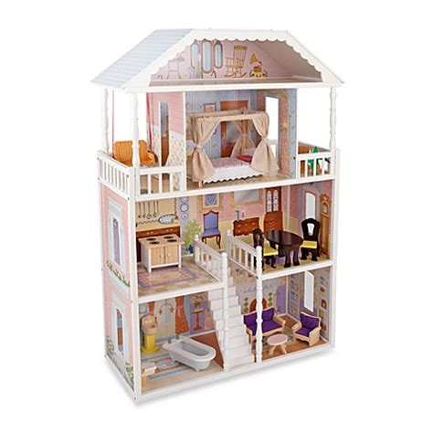 kidkraft savannah doll house buy kidkraft 174 savannah dollhouse from bed bath beyond