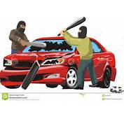 Auto Vandalism Royalty Free Stock Photos  Image 9581878