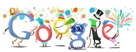 google themes new year the best google logos of 2011 marketing land