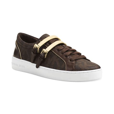 michael kors brown sneakers michael kors michael sneakers in brown brown mk