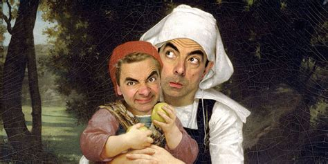 mr bean painting mr bean makes these historical paintings absolutely hilarious
