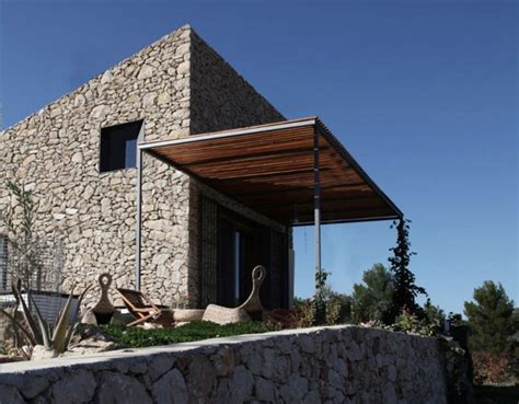 Log Cabin Style House Plans by Enproyecto Arquitectura S Spanish Coastal Stone Cabin