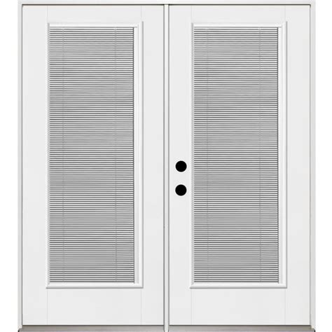 Benchmark Patio Doors by Shop Benchmark By Therma Tru 70 5625 In Blinds Between The