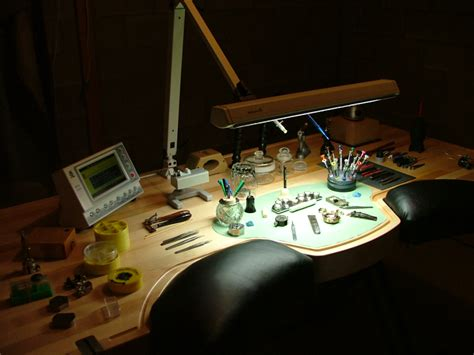 watchmaker bench ex anthrax guitarist turned master watchmaker designs an