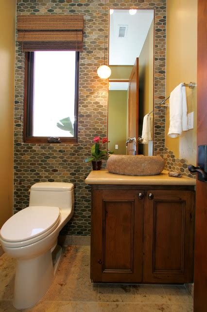 powder room remodels southwestern contemporary