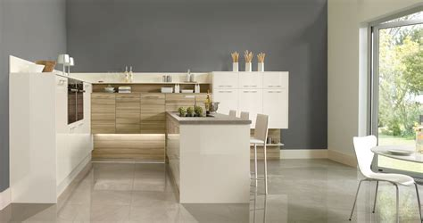 Tempo Kitchen by Tempo Driftwood With Grey