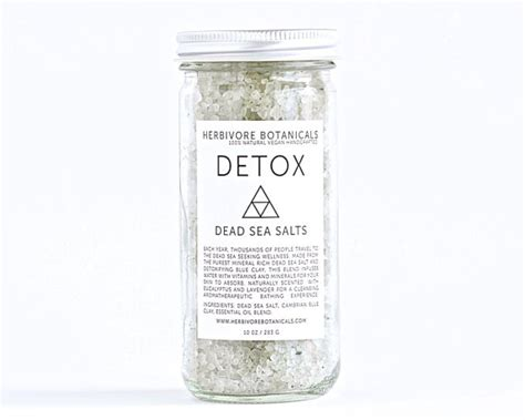 Sea Salt Detox Bath Recipe detox bath salts dead sea salt made with by
