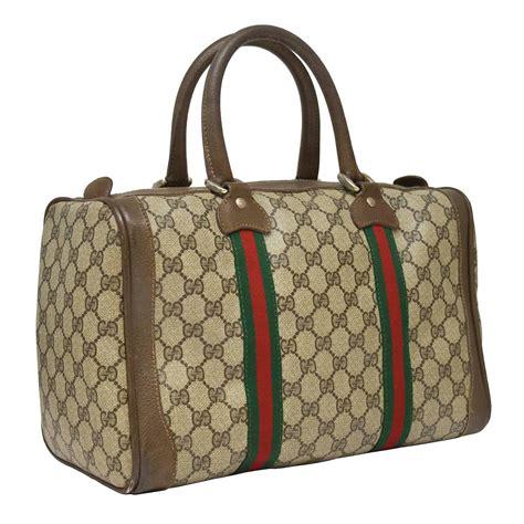 Gucci Boston 2015 Condition Complete Set 1970 s gucci monogram boston bag for sale at 1stdibs