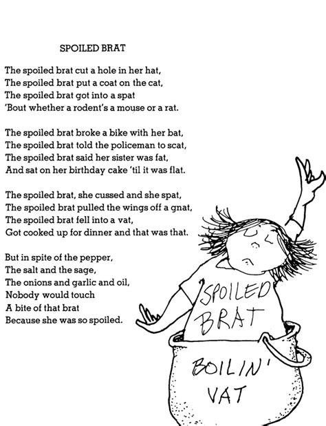 messy room by shel silverstein famous funny poem spoiled brat shel pinterest silverstein poems shel