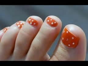 imagenes uñas pintadas de los pies dise 241 os de u 241 as de pies sencillas y bonitas youtube