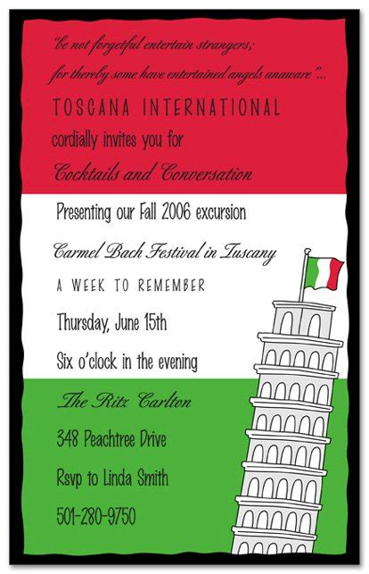 italian dinner menu card template italian invitation templates