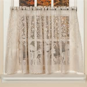 Bird Lace Curtains Lace Curtains With Birds Rooms