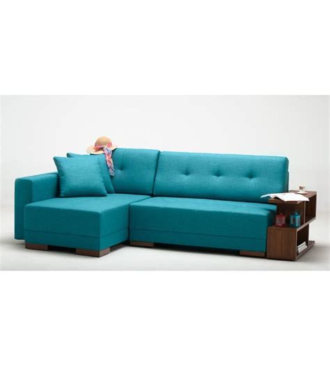 2 seater chaise lounge 2 seater sofa with left chaise lounge in blue buy online
