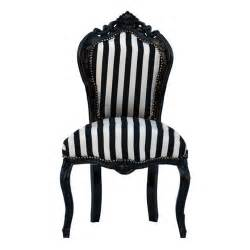 striped chair black wood frame black and white