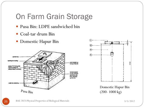 cultural practices  grain storage powerpoint